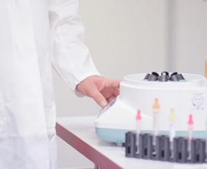 Durchführung der Diagnostik als Teil unserer Hausarzt-Leistungen.